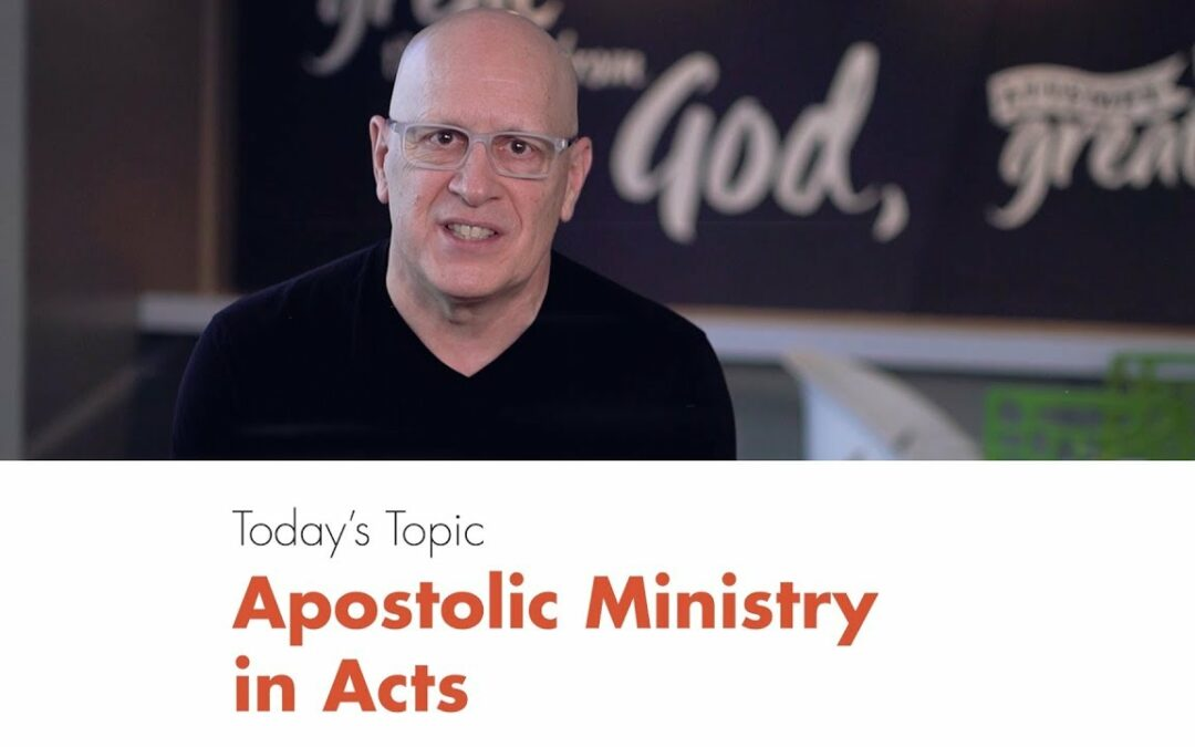Five-Minute Leadership: Apostolic Ministry in Acts