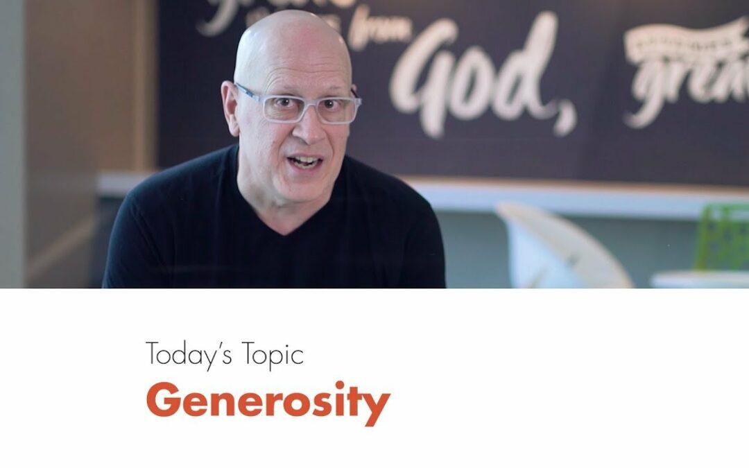 Five-Minute Leadership: Generosity