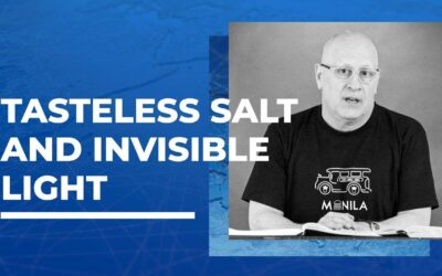 Tasteless Salt and Invisible Light